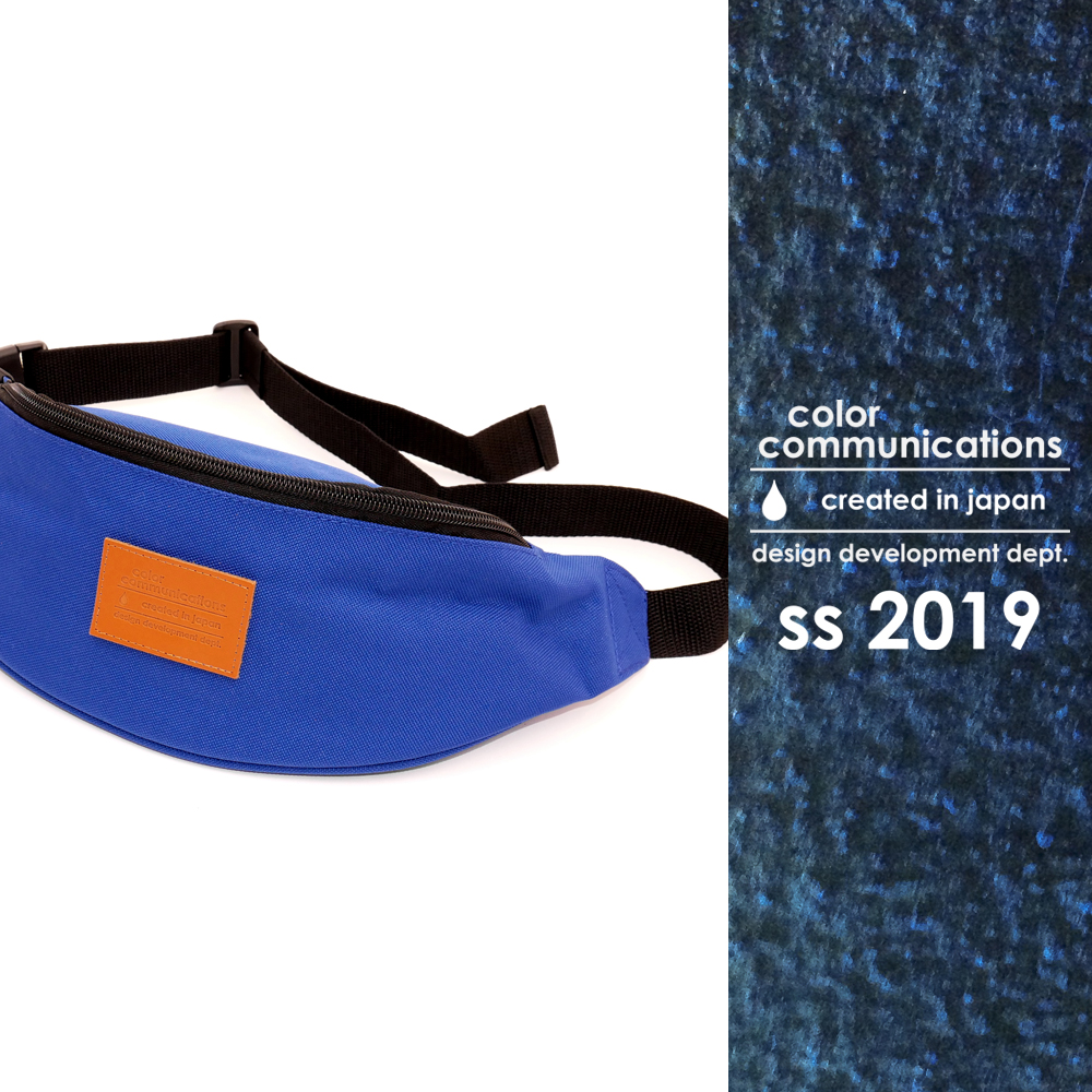 COLOR COMMUNICATIONS 2019 SS カタログ・BAG / 2 POCKET WAIST BAG