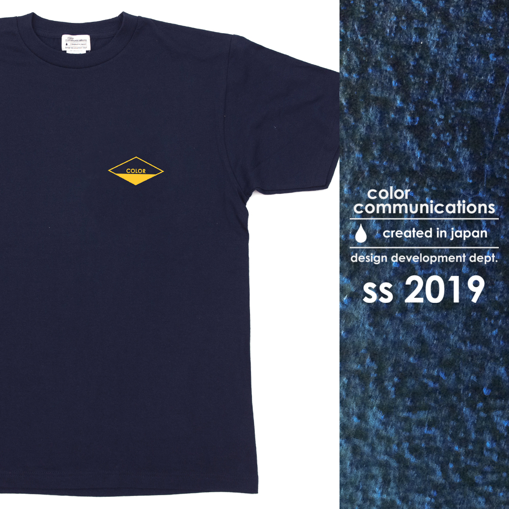 COLOR COMMUNICATIONS 2019 SS カタログ・T-SHIRT / DIAMOND
