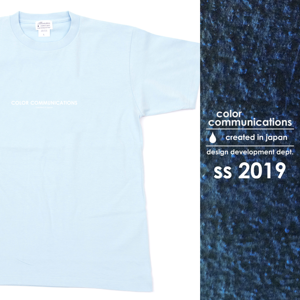 COLOR COMMUNICATIONS 2019 SS カタログ・T-SHIRT / HP HEADER