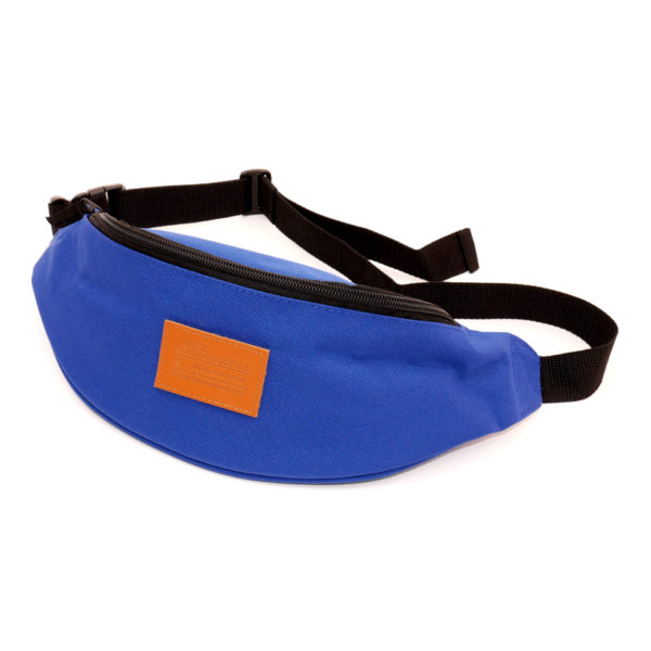 COLOR COMMUNICATIONS 2 POCKET WAIST BAG BLUE