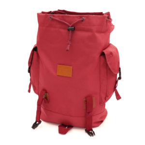 COLOR COMMUNICATIONS BAG CARGO POCKET BACKPACK WINE RED