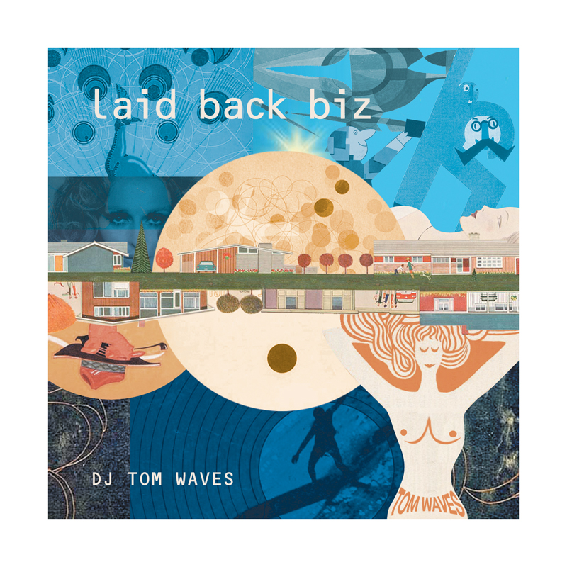 DJ TOM WAVES CD / laid back biz
