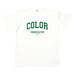 COLOR COMMUNICATIONS T-SHIRT COLLOGE WHITE