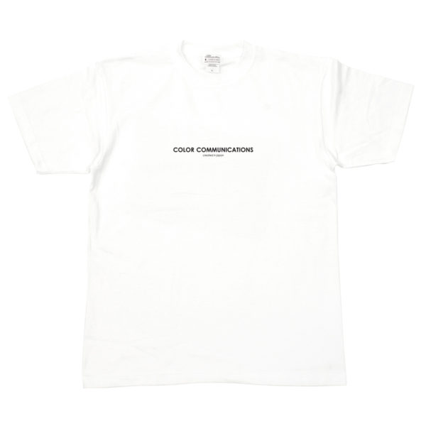 COLOR COMMUNICATIONS T-SHIRT HP HEADER WHITE