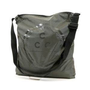 COLOR COMMUNICATIONS 2019 FW ccc square zip shoulder olive