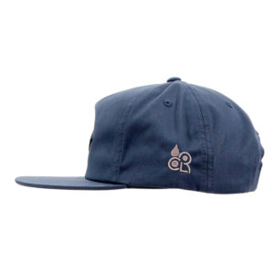 COLOR COMMUNICATIONS 2019 FW diamond patch snapback cap navy