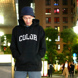 COLOR COMMUNICATIONS 2019 FW colloge hood / emno / size : L