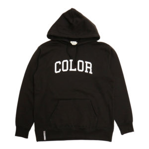 COLOR COMMUNICATIONS 2019 FW colloge hood black