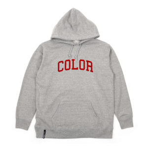 COLOR COMMUNICATIONS 2019 FW colloge hood grey