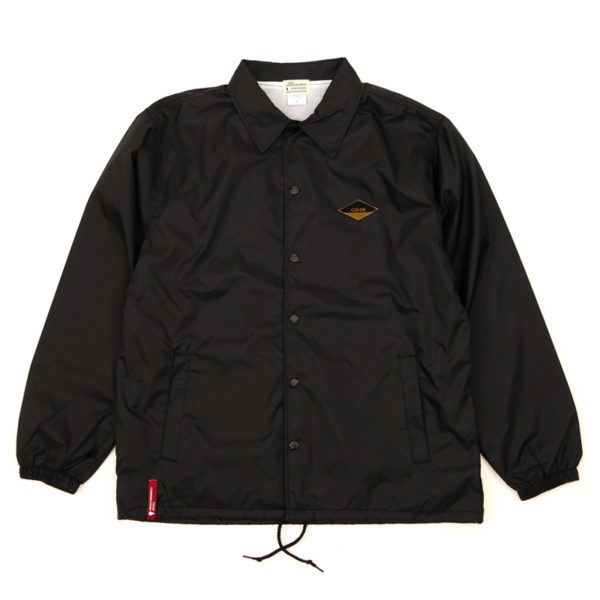 COLOR COMMUNICATIONS 2019 FW diamond patch jacket black