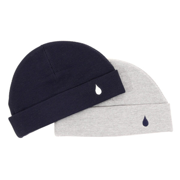 COLOR COMMUNICATIONS 2019 FW drip emb thermal knitcap