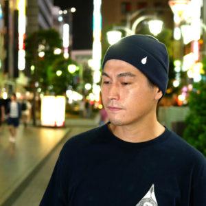 COLOR COMMUNICATIONS 2019 FW drip emb thermal knitcap / Hiroki Muraoka