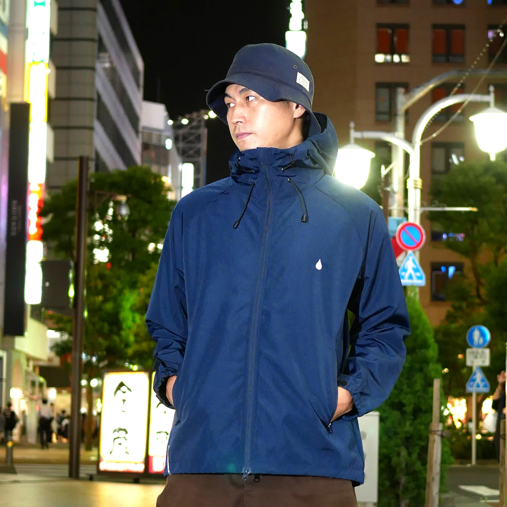 COLOR COMMUNICATIONS 2019 FW drip emb wind jacket / Hiroki Muraoka / size : L