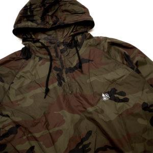 カラーコミュニケーションズ jacket clr emb packable anorak アウトレット