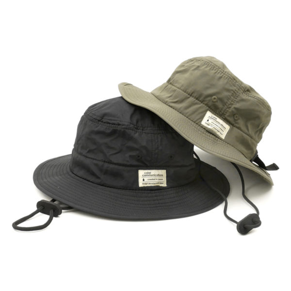 COLOR COMMUNICATIONS カラーコミュニケーションズ HAT ハット COTTON TAG BOONIE NYLON