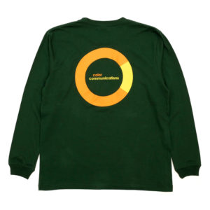COLOR COMMUNICATIONS カラーコミュニケーションズ LONG SLEEVE Tシャツ CRING