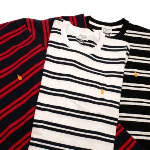COLOR COMMUNICATIONS カラーコミュニケーションズ Tシャツ DRIP EMB STRIPE