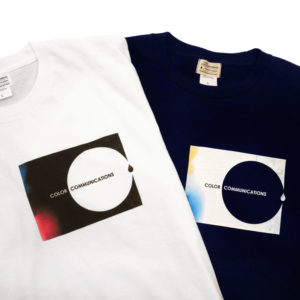 COLOR COMMUNICATIONS カラーコミュニケーションズ Tシャツ RECTADOT PHOTO