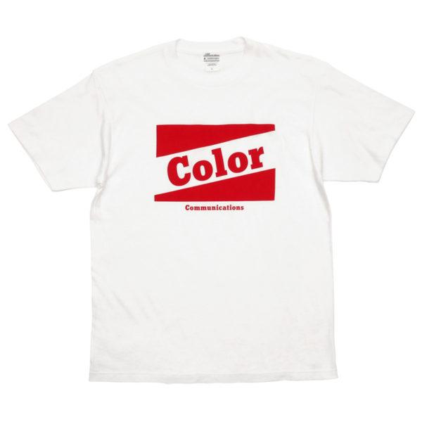 COLOR COMMUNICATIONS カラーコミュニケーションズ Tシャツ RETRO BAZ