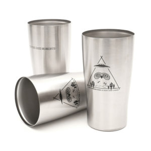 COLOR COMMUNICATIONS & FANCY SHOP CHOMESS カラーコミュニケーションズ ファンシーショップチョメス VACUUM STAINLESS TUMBLER FOR THE GOOD MOMENTS 真空ステンレスタンブラー
