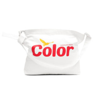 COLOR COMMUNICATIONS BAG / WAWA OWL WHITE