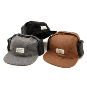 COLOR COMMUNICATIONS CAP / COTTON TAG WOOL FLIGHT