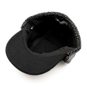 COLOR COMMUNICATIONS CAP / COTTON TAG WOOL FLIGHT BLACK