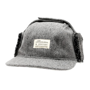 COLOR COMMUNICATIONS CAP / COTTON TAG WOOL FLIGHT GREY