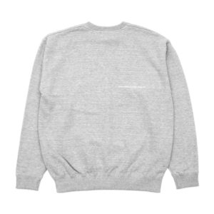 COLOR COMMUNICATIONS CREW SWEAT / DRIP EMB CREW GREY