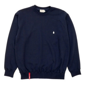 COLOR COMMUNICATIONS CREW SWEAT / DRIP EMB CREW NAVY