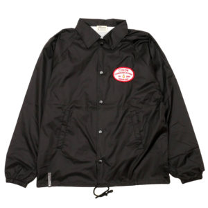 COLOR COMMUNICATIONS JACKET / STATION PATCH COACH BLACK