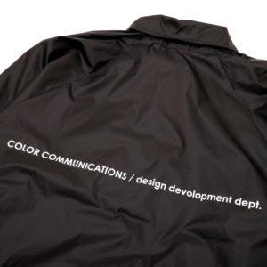 COLOR COMMUNICATIONS JACKET / STATION PATCH COACH BLACK