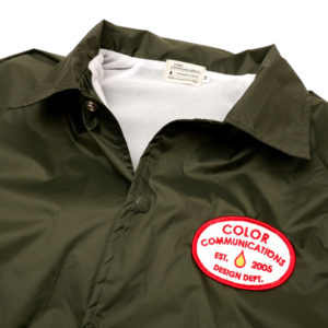 COLOR COMMUNICATIONS JACKET / STATION PATCH COACH DARK OLIVE