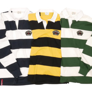 COLOR COMMUNICATIONS LONG SLEEVE / DESIGN DEPT. PATCH STRIPE RUGGER