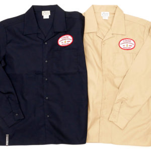 COLOR COMMUNICATIONS LONG SLEEVE SHIRT / STATION PATCH WORK