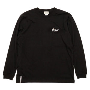 COLOR COMMUNICATIONS LONG SLEEVE T-SHIRT / WAWA OWL BLACK