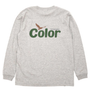 COLOR COMMUNICATIONS LONG SLEEVE T-SHIRT / WAWA OWL GREY