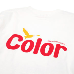 COLOR COMMUNICATIONS LONG SLEEVE T-SHIRT / WAWA OWL WHITE