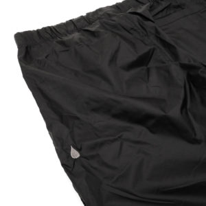 COLOR COMMUNICATIONS PANTS / DRIP EMB NYLON BLACK