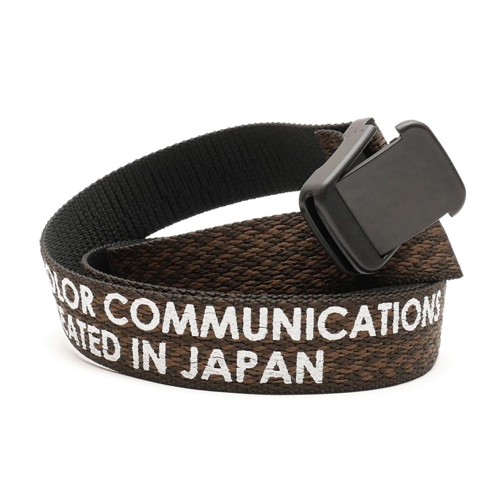 COLOR COMMUNCIATIONS(カラーコミュニケーションズ)BELT / T-LOCK PATTERN