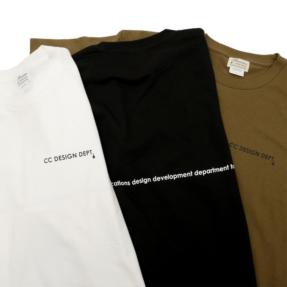 COLOR COMMUNCIATIONS(カラーコミュニケーションズ)T-SHIRT / CC DESIGN DEPT.