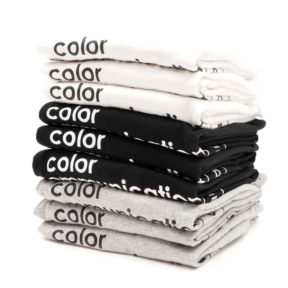 COLOR COMMUNICATIONS(カラーコミュニケーションズ)Tシャツ created in japan