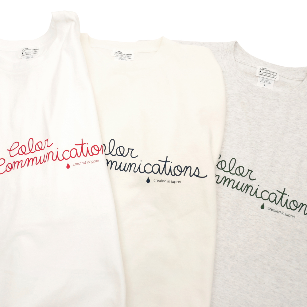 COLOR COMMUNCIATIONS(カラーコミュニケーションズ)T-SHIRT / HANDWRITE 21
