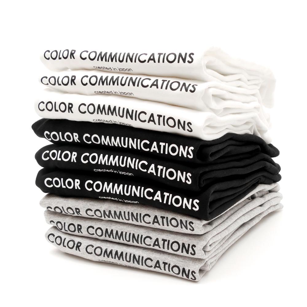 COLOR COMMUNICATIONS(カラーコミュニケーションズ)Tシャツ hp header